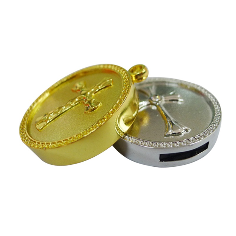 Promotional Metal Coin Usb Flash Drive