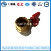 Messing Water Meter kogelkranen