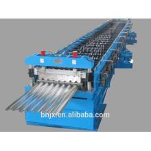 Máquina de formação de fluxo de metal, máquina de formação de rolo de painel de telhado / parede