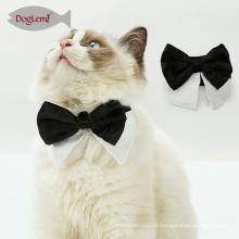 Gentleman Pet Cat Schal Neueste Design Black And White Cat Fliege