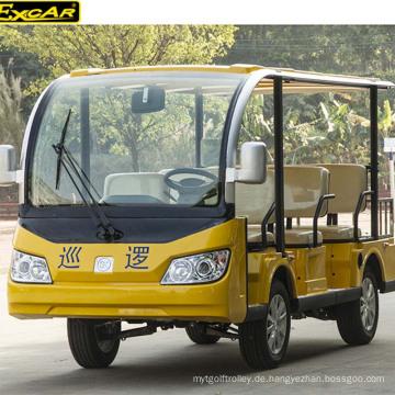 China-heißer Verkauf 8 Sitzplatz-elektrischer Besichtigungsbus