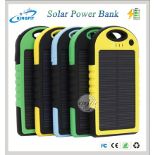 Factory Wholesale Portable Waterproof Mobile Solar Power Bank