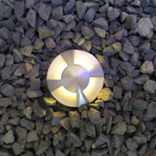 Four sides emitting LED Recessed Pool Light