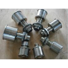 Использование жидкого фильтра и форсунки для форсунок с круглым отверстием
