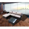 Outdoor Rattan Cane Bistro Sofa Lounge Set