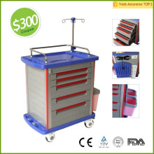 Obtenga cupón de $ 300! Certificado de la FDA CE MT01A Medical Cart / Hospital Trolly