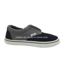 Zapatillas clásicas del monopatín de la lona del niño (2288-S & B)