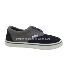Classical Kid′s Canvas Skateboard Shoes (2288-S&B)