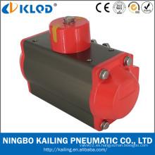 KLQD marca AT serie actuador neumático para válvula de bola y válvulas de mariposa