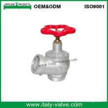 Válvula de hidrante de aterrizaje de fuego cromado de aluminio (AV4063)