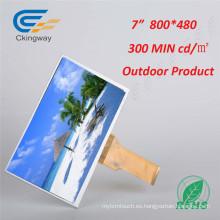 "7 ""50 Pin Industrial TFT LCD y monitor de pantalla CRT"