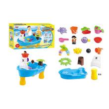 Novedad niños verano juego de plástico playa de arena juguetes (h1336160)