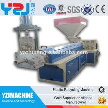 gránulo de plástico venta caliente que hace la máquina de fabricación de pellets máquina