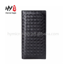 High-end fashion style luxurious lamb leather wallet