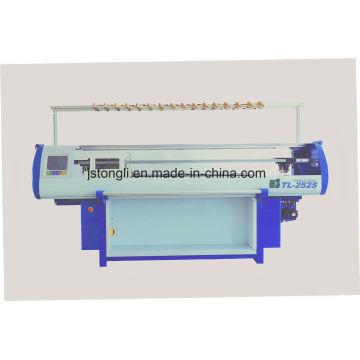 Máquina de hacer punto plana del telar jacquar de 5 calibres (TL-252S)
