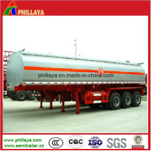 ISO Tri-Axles 45cbm Stainless Steel Chemical Tank Trailer for Sale