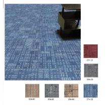 Carreaux de tapis commerciaux PP avec Eco Bitumen Backing