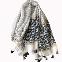 2017 primavera e no verão moda grande xale vários estilo rayon lenço árabe para as mulheres