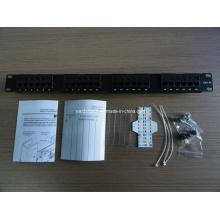 """1u 24port UTP Cat5e Patch Panel 19"""" Inch (WD6A-001)"""
