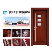 Porte en bois de porte de chambre à coucher en bois de forces de défense principale d'intérieur (LTS-312)