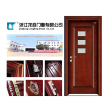 Interior Glass MDF Wooden Door Bedroom Door (LTS-312)