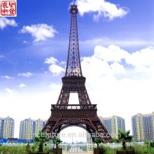 2016 Nouvelle Tour Eiffel Sculpture moderne Sculpture d'art Statue urbaine Cas de réussite