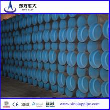 Tubo corrugado de pared doble de HDPE para drenaje y alcantarillado