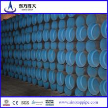 HDPE Tubo ondulado de parede dupla para drenagem e esgoto