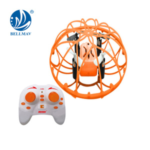 Mini 360 Degree Climbing Radio Control Quadcopter 2.4 GHz 4Channel 6 Axis Gyroscope RC Ball Hand Throwing Flying Helicopter