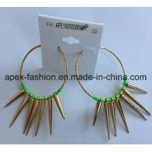 Woven Gold Plated Pierced Earrings Fashion Jewelry