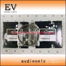 Kit de manchon de chemise de cylindre de piston MITSUBISHI L2E L3E