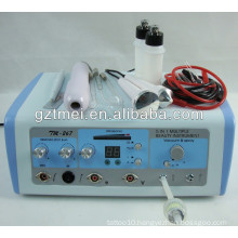 5 in 1 untrasonic vacuum suction rf skin rejuvenation facial care and slimming machines