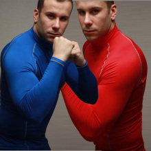 Quick Dry Long Sleeve Compression Sportswear for Man