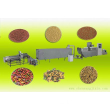 Fully automatic dry pet dog food pellet machine/plant/production line with CE