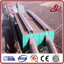 Colector de polvo fabricante filtro de bolsa para planta de asfalto