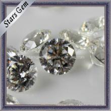 81 грань Star Cut круглой формы Loose Stone кубического циркония