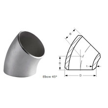 3 Sch 40 Long Radius Elbow