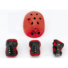 Wrist Elbow Knee Pads Protectors Support Junior Guards Cycling Inroller Skates (CK-1006)