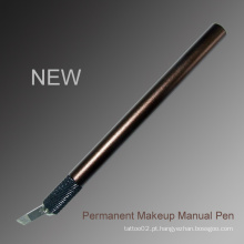 Personalizada Private Logo Sobrancelha Manual Tattoo Pen