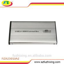 2.5 IDE алюминиевый корпус для жестких дисков USB 2.0 HDD Case