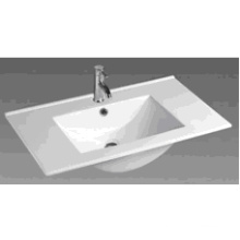 90e Bathroom Square Ceramic Cabinet Basin