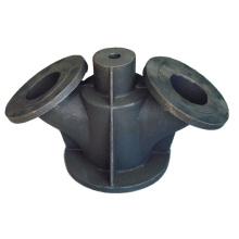 Partie en fonte d'acier utilisée sur le chemin de fer