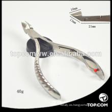 Productos para el cuidado de las uñas cortador de uñas de acero inoxidable