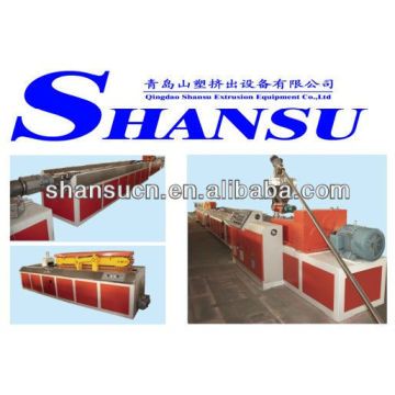 WPC-Extruder-Maschine (PVC/PP/PE + Holz-Pulver)