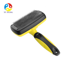 Grooming Brush Pet Deshedding Tool For Dogs Pets Slicker Brush Cat Dog Comb Brush Glove for Removing Hair From Domestic Animals Grooming Brush Pet Deshedding Tool For Dogs Pets Slicker Brush Cat Dog Comb Brush Glove for Removing Hair From Domestic Animals