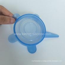 Крышка чашки силикона для питьевой очки