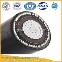 Cable acorazado de aluminio de un solo núcleo de 10kV 3x240 240mm para uso industrial