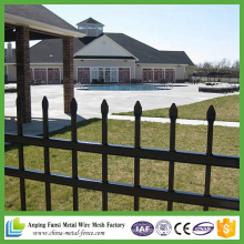 High Quality Black Cheap Decorative Wrought Iron Fence with Arrow