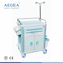 AG-ET015B1 abs medical instrument hospital emergency drug in emergency trolley