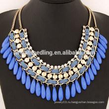 TOP SALE Мода дизайн воды падение бесконечности ожерелье